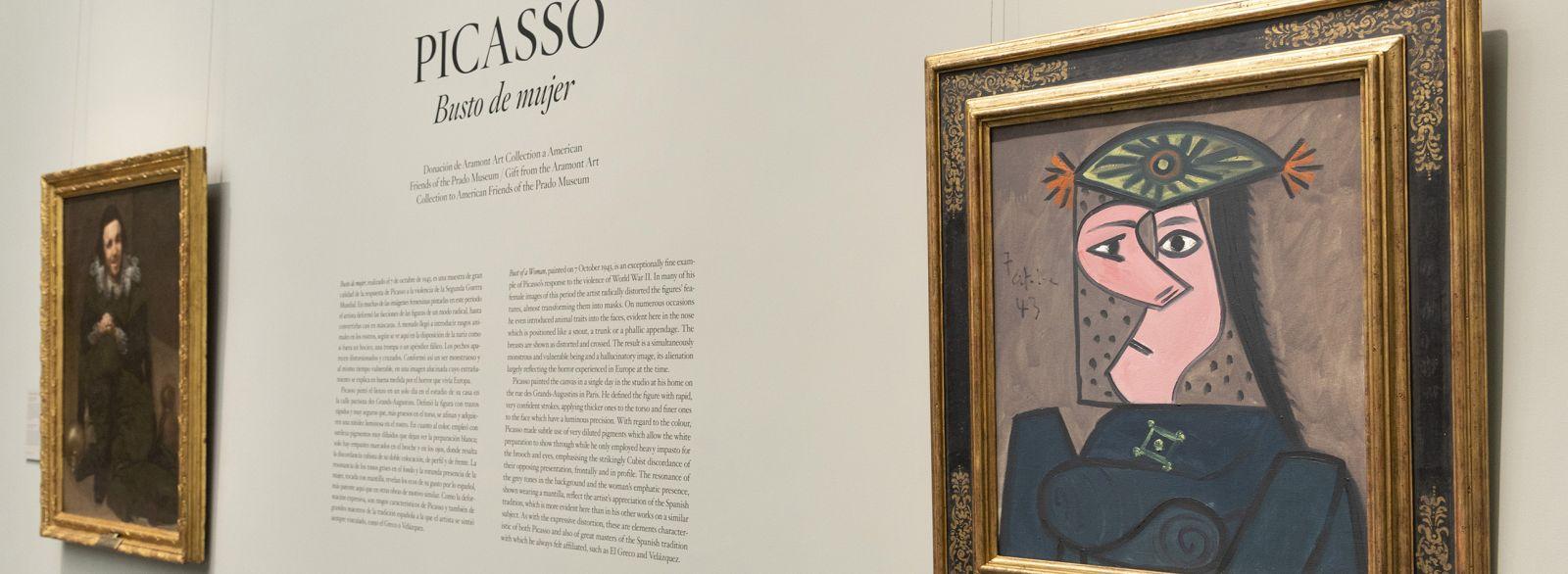 Buste de Femme 43 by Picasso