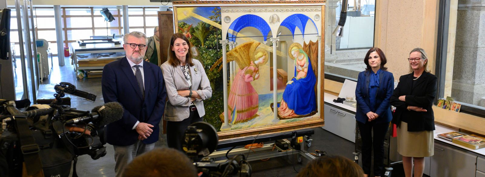 The Annunciation restored
