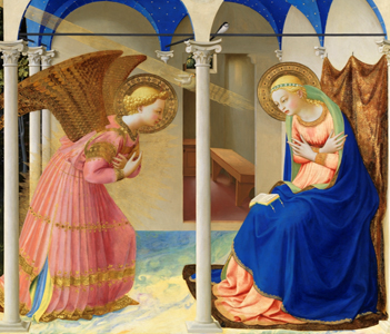 The Annunciation, Fra Angelico