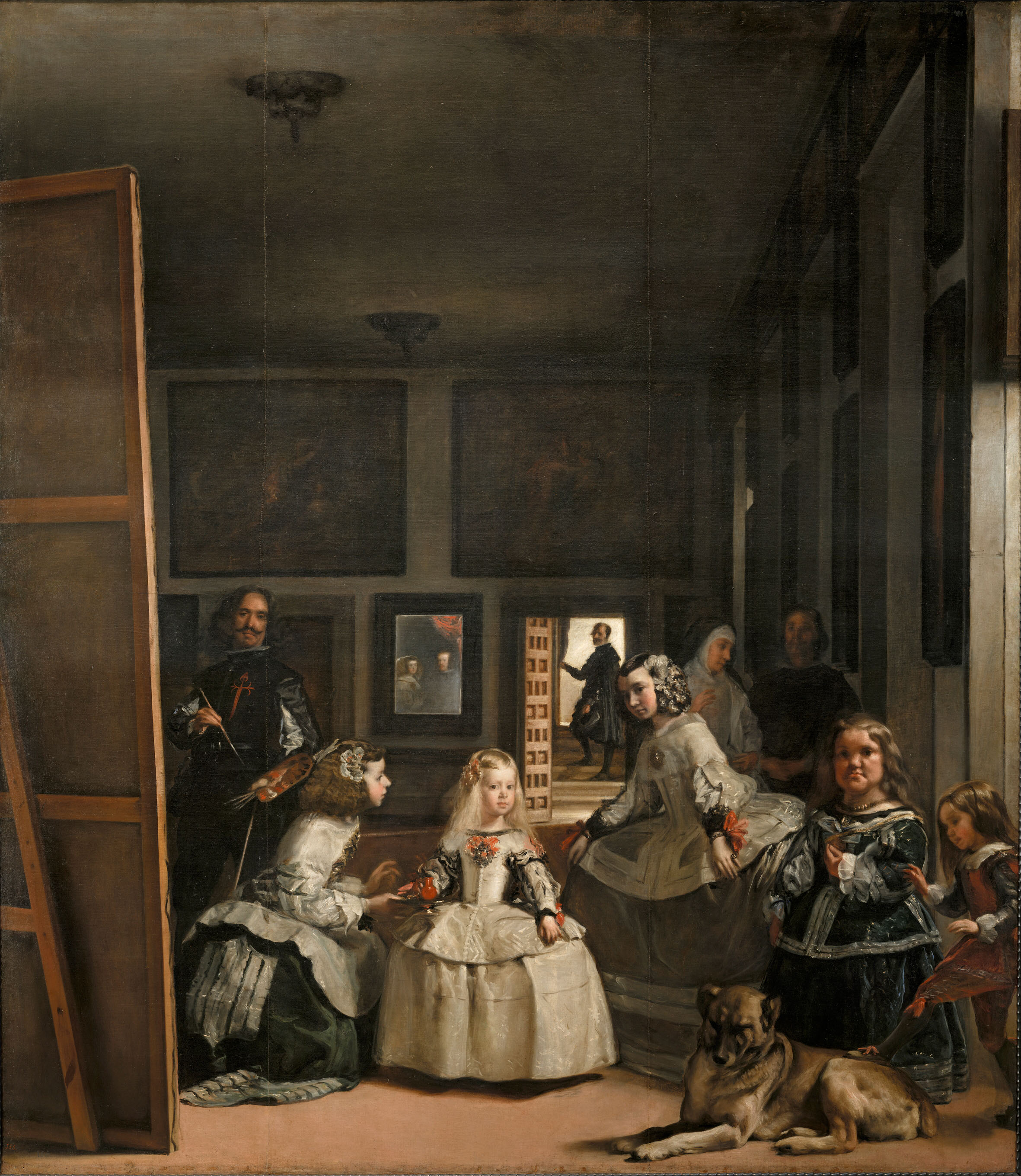 Las Meninas, or The Family of King Philip IV, Velázquez