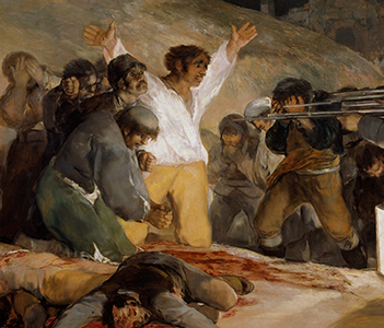 "The 3rd of May 1808 in Madrid or ""The exectutions"", Goya"