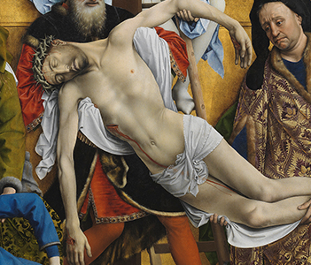 Descent from the Cross, Van der Weyden