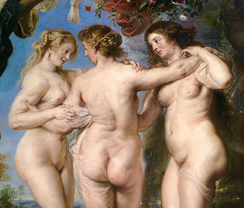 Three Graces, Rubens