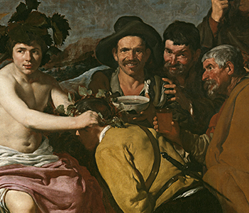 The Drinkers, or The Triumph of Bacchus, Velázquez