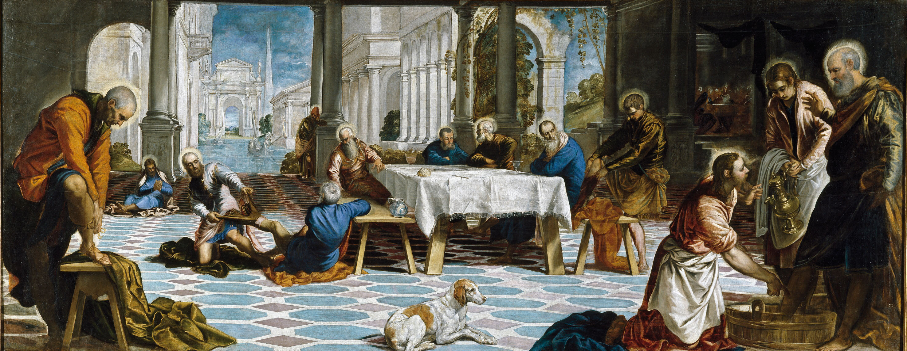 The Foot Washing, Tintoretto