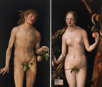 Adam and Eve, Dürer