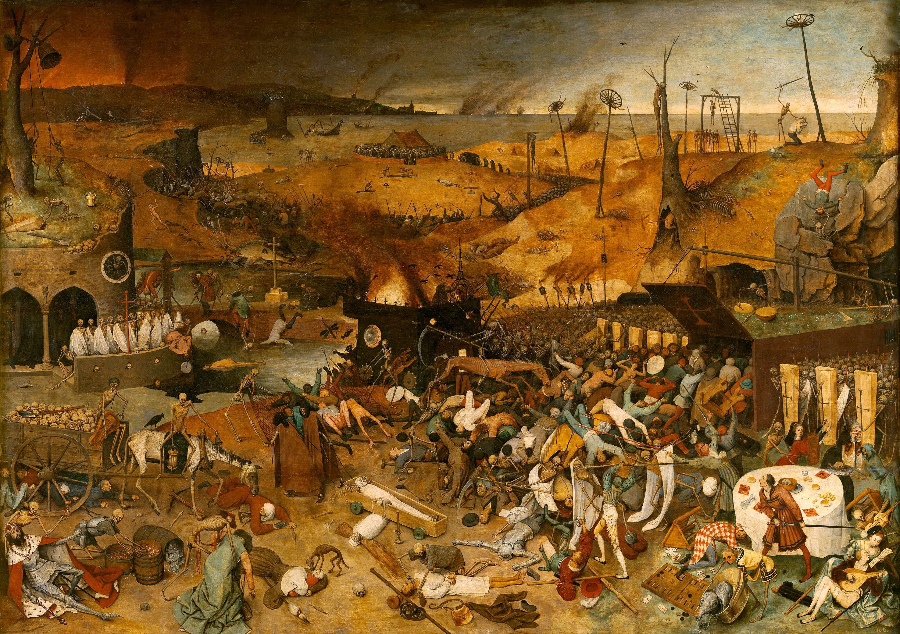 The Triumph of Death, Brueghel the elder