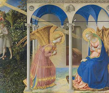 Restoration of The Annunciation by Fra Angelico