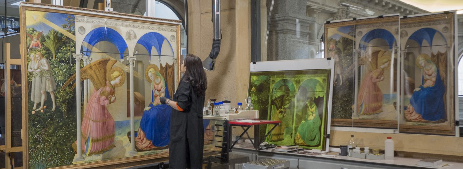 Contribute to the Restoration of The Annunciation altarpiece